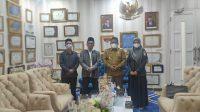 Wali kota banda aceh kedatangan Ketua Panwaslih Kota Banda Aceh